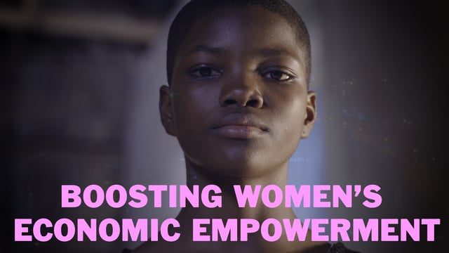 Boosting Women's Economic Empowerment