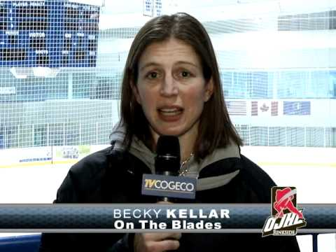 Becky Kellar reports on the Oakville Blades