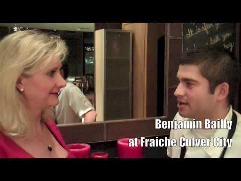 Fraiche Culver City, chef Benjamin Bailly -- Sophie Gayot of GAYOT.com