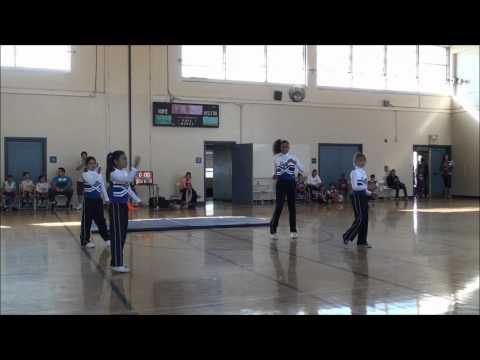 Culver City Palms YMCA Cheerleaders Halftime Performance
