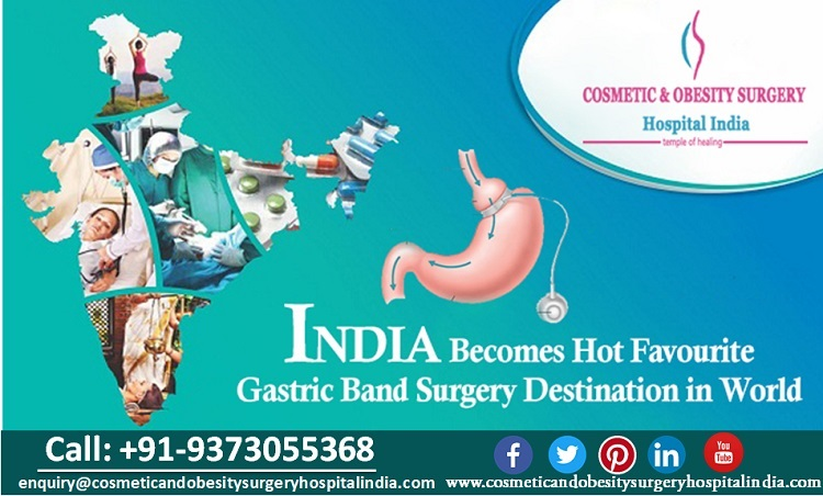 India Becomes Hot Favourite Gastric Band Surgery Destination in World