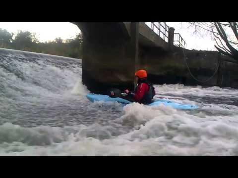 Jodi at Nafford Weir