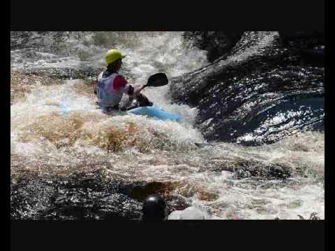 Kayaking Tryweryn 2010