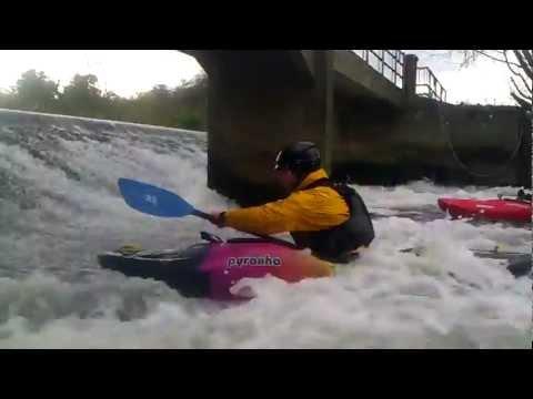 Stuart at Nafford Weir