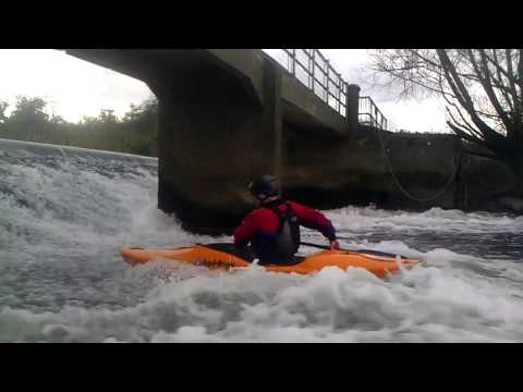 Roger at Nafford Weir
