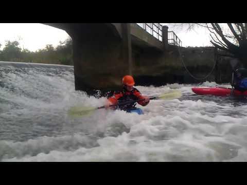 Brian at Nafford Weir