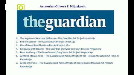 The  Guardian artworks by Olivera Z. Mijuskovic