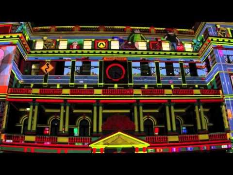 Vivid Festival Sydney 2012 -Spectacular Sydney Laser Light Show.mov