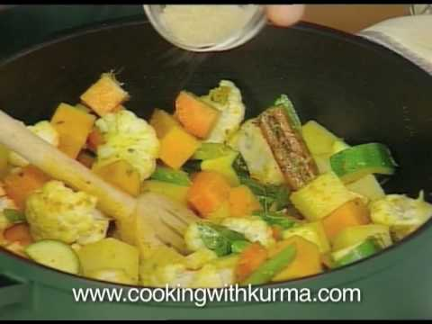 Cooking With Kurma - Vegetable Curry