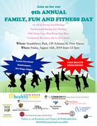 New Haven Healthy Start 's 9th Annual Family, Fun and Fitness Day