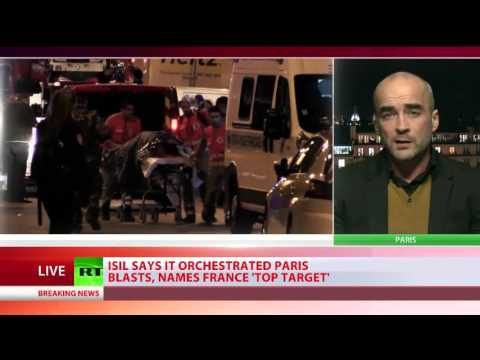 Political author Gearoid O Colmain discusses the Paris attacks with RT International