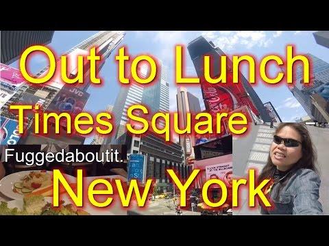 Manhattan New York Times Square Food Choices