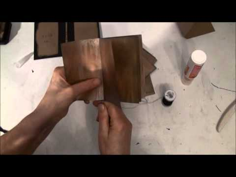 Easy and fast journal binding tutorial from start to finish