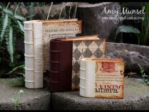 Vintage Journal Tutorial by StampinStuff01
