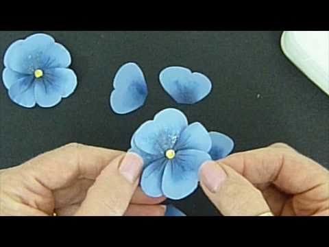 Pretty Paper Pansies
