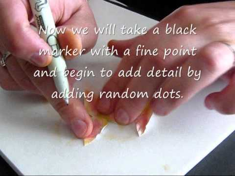 Handmade Paper Flowers - Lily Tutorial by Lidia Salas