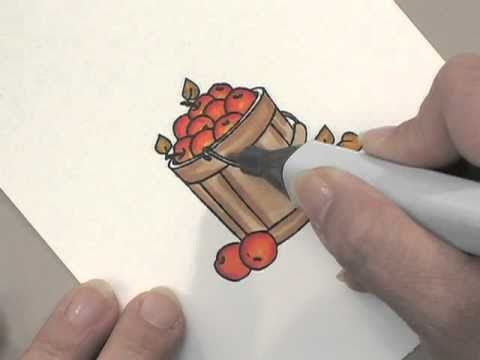Simple Copic Coloring - Part 2 - by Gina K. Designs