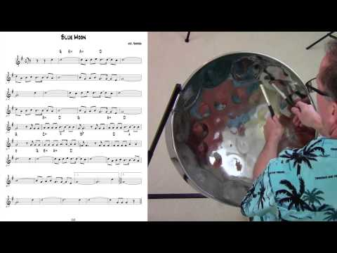 "Tropical Shores Steel Drum Lessons: ""Blue Moon"""