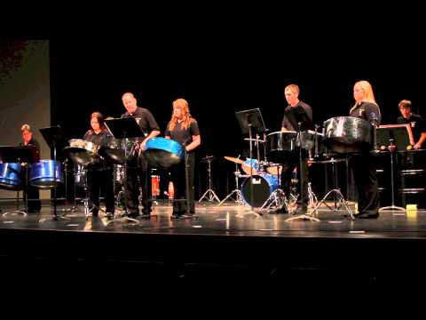 Haven Steel Drum Band Performing at Wichita State University April 22, 2013