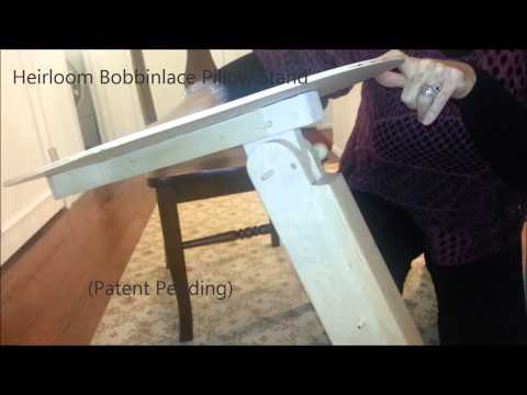 Heirloom Bobbin Lace Pillow Stand