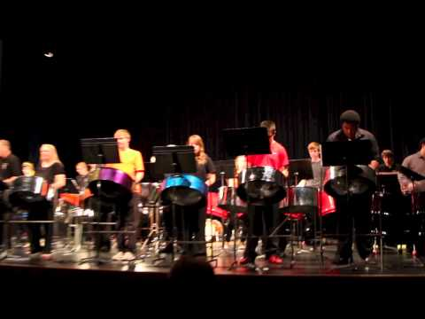 Wichita State University Mass steel drum night 2013