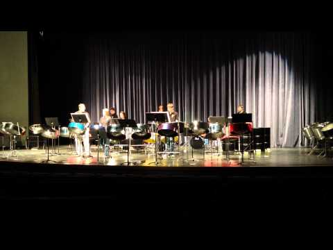 "Haven High School Steel Drum Band Performing ""El Cumbanchero"" at Wichita State University"