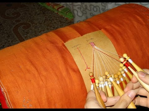 The Basics of Cantù bobbin lace