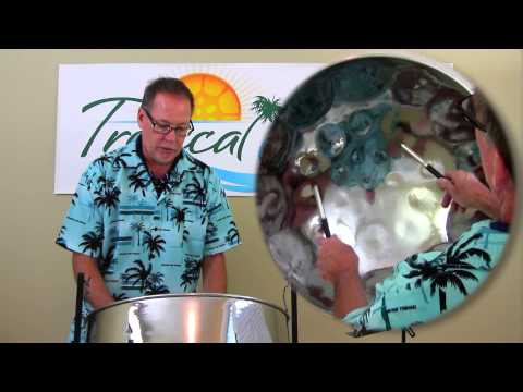 """Break My Stride"" Tropical Shores Steel Drum Lessons"