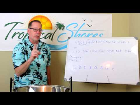 Comping, Triads, and How to Build a Chord - Tropical Shores Steel Drum Lessons