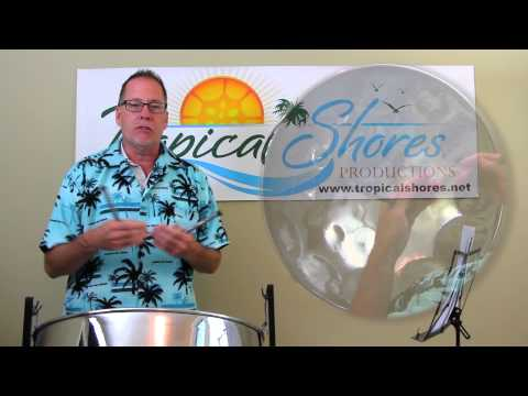"Tropical Shores Steel Drum Lessons: ""Summertime"""