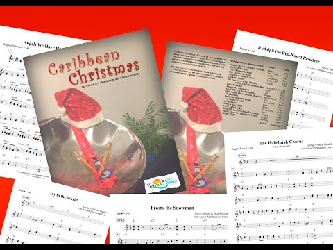 Caribbean Christmas music on Steel Drums