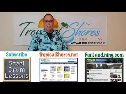 Under the Sea - Tropical Shores Steel Drum Lessons