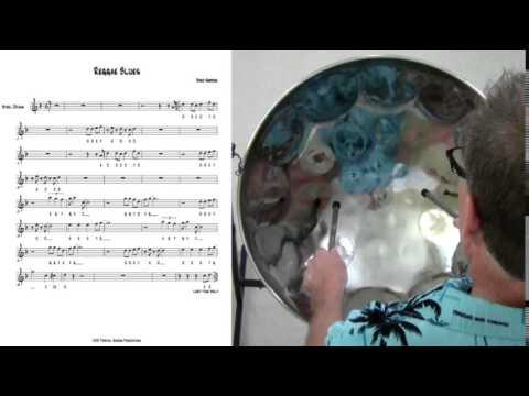 Reggae Blues - Tropical Shores Steel Drum Lessons