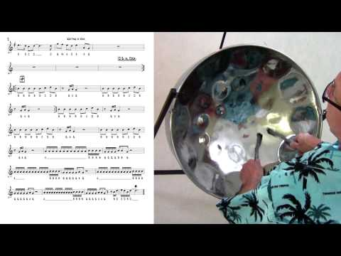 "Tropical Shores Steel Drum Lessons: ""Waiting in Vain"""