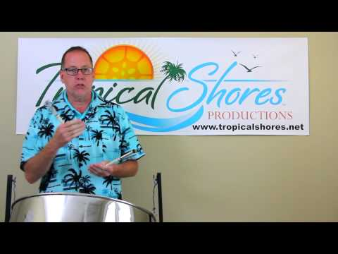 "Tropical Shores Steel Drum Lessons: ""Jammin"""