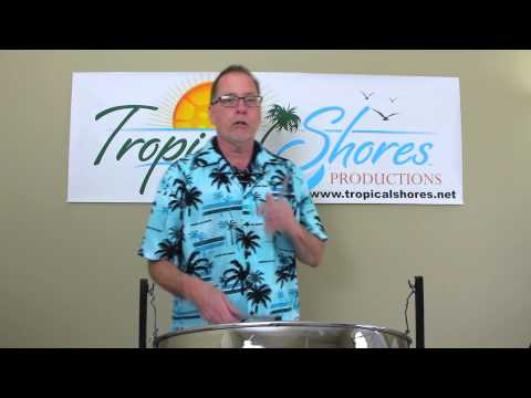 "Tropical Shores Steel Drum Lessons: ""Cool Waters"""