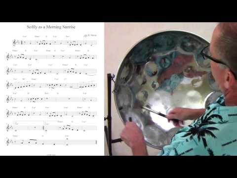 "Tropical Shores Steel Drum Lessons: ""Softly as a Morning Sunrise"""
