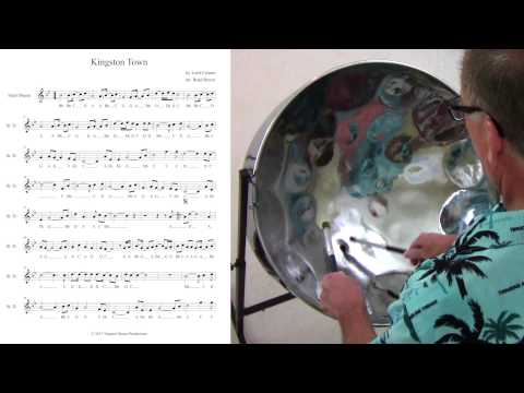 "Tropical Shores Steel Drum Lessons: ""Kingston Town"" Improvisation"