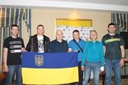 Командa Украины на командном турнире в Тбилиси.