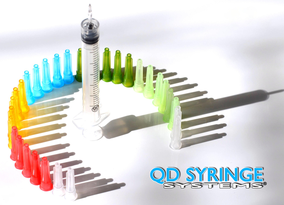 QD Syringe | Quick Draw Syringes | QD Hubs