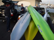 Mission Bay Plastic Navy Ocean Kayak Bass and Halibut Tourney 2009