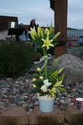 Flowers for Grants Candle light Vigil 2007