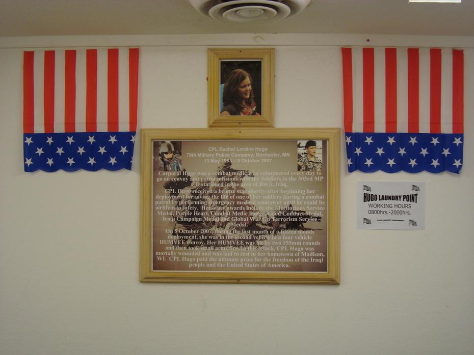 COB Tayji Hugo Memorial