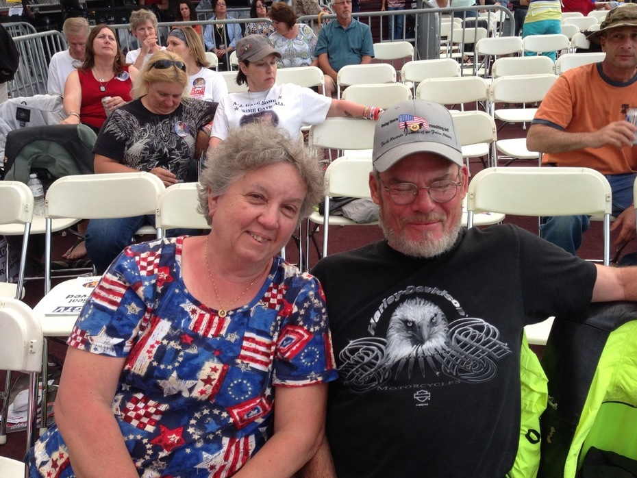 Families of our Fallen At Freedom Fest 2013
