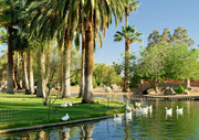 Encanto Park Lagoon and Bridge