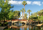 Encanto Park Foot Bridge