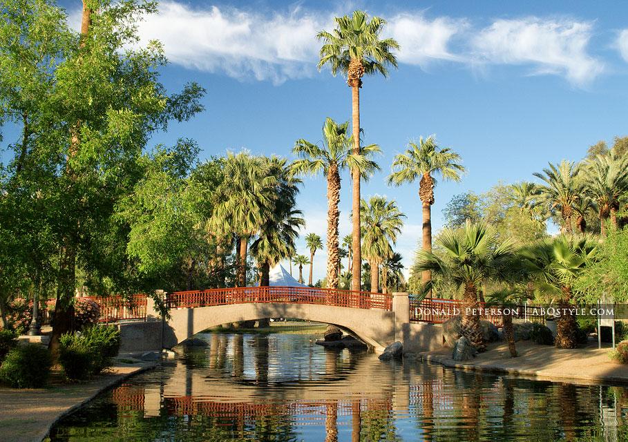 Encanto Park Foot Bridge