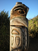 Totem Pole at Lady Di Playground