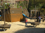 Princess Diana Playground pirate ship