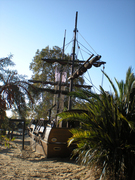 Pirates at Princess Diana playground